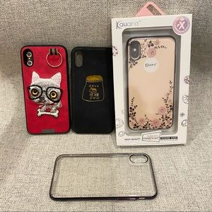 4 for $8 NEW! iPhone X High quality phone case